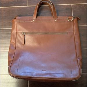 Men's Fossil Haskell North/South Workbag